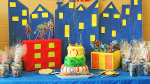 Avengers Party Decorations The Avengers Theme Birthday Party Centerpiece Fondant Cake