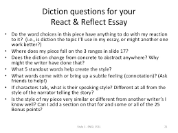 style diction diction questions