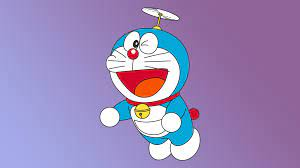 Doraemon Minimal 4K Wallpaper, HD ...