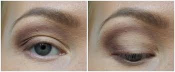 whenever i m doing my makeup i always open my eyes and see how it looks that way i even apply the shadow eyes open to get it just right