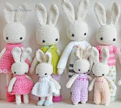 Free Crochet Bunny Pattern Delectable Baby Bunny Overall CrochetObjet