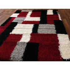 impressive red and grey area rugs 44 photos home improvement regarding black for red black and gray area rugs modern
