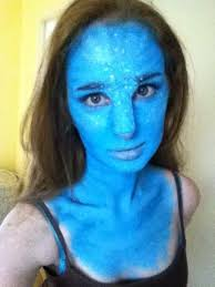 avatar makeup i did a few years back the nose is shocking i know