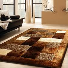 Living Room Rugs Cool Admirable Shaggy Viscose 30 Brown Living