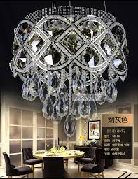 traditional crystal chandeliers lighting gold palace light luxury modern rectangular dining room lamp led crystal pendant