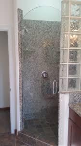 shower door with arch top