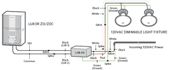 luxor cube and relay wiring diagrams fx luminaire Low Voltage Lighting Transformer Wiring Diagram [c] high voltage fixtures 24 Volt Transformer Wiring Diagram
