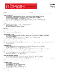 Gallery Of Hybrid Resume Template Word