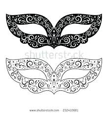 Masquerade Mask Template Extraordinary Masquerade Mask Template Invitation Masks Templates Printable Choice