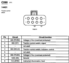 2003 ford mustang traction control switch wiring diagram terminal graphic
