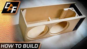 Sound Box Design Pdf Build A Better Subwoofer Box Custom Design For Your Exact Subwoofer