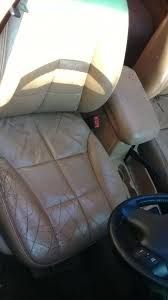 jeep grandcherokee original cream leather seats marked down to clear for