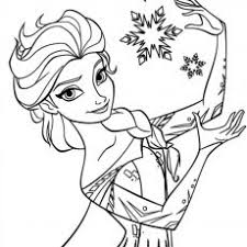Elsa Frozen Coloring Pages Coloring