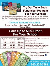 Fundraising Flyer Fundraisers The Taste Book 20