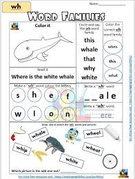 Word families worksheets help kids learn common spellings in a fast and fun way. Digraph Worksheets Word Families Editable Making English Fun