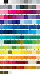 Paintcor Colour Chart Colour Charts Qps Signage And Printing