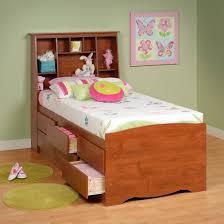 Lowes Bedroom Furniture Prepac Furniture Captains Platform Storage Bed With Slant Back