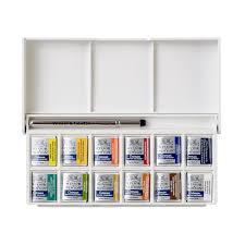 Winsor And Newton Cotman Color Chart Cotman Water Colours Sketchers Pocket Box Winsor Newton