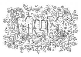 Small Picture 20 Free Printable Mothers Day Coloring Pages for Adults