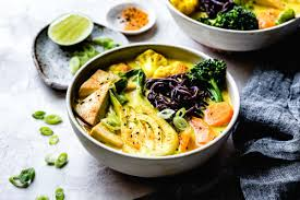 This coconut curry soup is the ultimate comfort food filled with rich and creamy coconut milk, spicy thai curry, healthy veggies, and slurpy rice noodles. Vegan Coconut Curry Noodle Soup Gluten Free The Bojon Gourmet