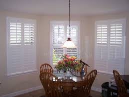 white solid poly plantation shutters