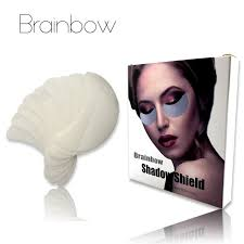 brainbow 30pair box 60pc disposable eyeshadow shield adhesived protector pad for eye makeup