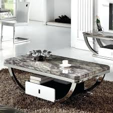 marble coffee table modern furniture inside decor great book ideas