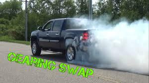 2012 GMC Sierra 3.42 to 4.10 Gearing Swap - YouTube