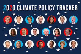 Democratic Candidate Comparison Chart Climate Change And The 2020 Presidential Candidates Where