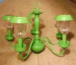 solar powered chandelier