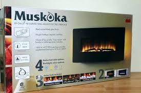 muskoka electric fireplace electric fireplace manual reviews curved muskoka electric fireplace insert manual