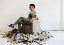 furniture design studios. Korean Design Studio Collects Old Cardboard To Produce New Furniture Studios
