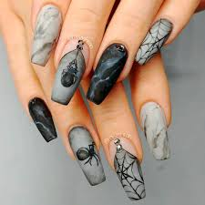 Black Nail Designs 2018 The Best Halloween Nail Designs In 2018 Stylish Belles