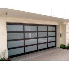 decorating modern garage door s garage inspiration for aluminum glass garage door cost