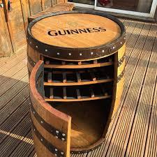 wine barrel wine rack furniture. Whiskey Barrel Wine Rack Oak Whisky Guinness Balmoral Drinks Furniture K