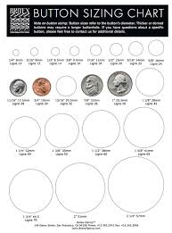 Button Size Chart Vintage Pattern Marketplace Buttons Finding The Right