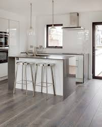 wood flooring ideas living room. Grey Hardwood Floors Ideas Modern White Kitchen Design Stainless Steel Countertop Wood Flooring Living Room F