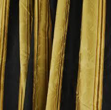 details about black gold stripe dry fabric cat stripe velvet curtain fabric