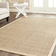safavieh casual natural fiber natural and beige border seagrass seagrass rugs