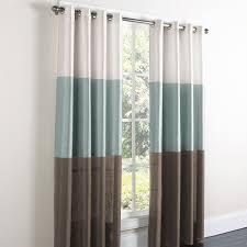 ... Astounding Curtains With Grommets Residence Grommet Panels And Brown  Ceramic Floor Also White Wall ...