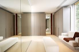 Interior  Pretty Modern White And Grey Dressing Room Design Changing Rooms Interior Designers