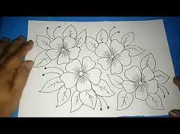 23 gambar sketsa yang bisa anda. Gambar Batik Bunga Ornamen 4 Youtube