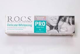 <b>Зубная паста</b> Рокс <b>PRO</b> делик отбел <b>Sweet</b> mint 135г - цена от ...