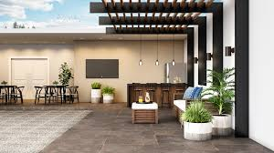 Você ainda pode adicionar um tapete escuro, que contrasta com a cor clara do piso. Piso Escuro Use Com Leveza Para Construir Ambientes Blog Pointer Revestimentos Ceramicos