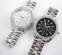 henley mens real crystal bling bracelet watches big dial in black image is loading henley mens real crystal bling bracelet watches big