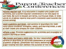 parent teacher conference letters parent teacher conference