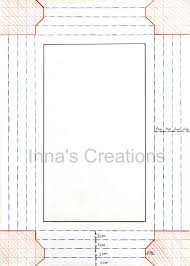 Paper Picture Frame Templates Innas Creations How To Make A Simple Paper Frame Quilling