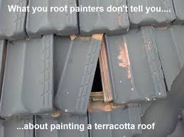 can you paint terracotta roof tiles tile designs