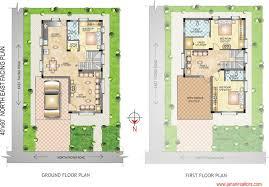 20 elegant 30x50 duplex house plans south facing 30x50 duplex house plans large