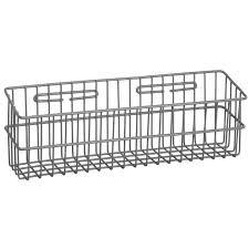 r b wire 2250 metal medical storage basket wall mounted